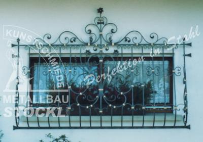 Kunstschmiede Fenstergitter..